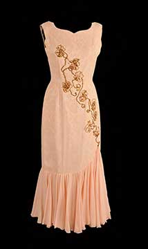 Silk Evening Gown by Rosemarye; c. 1960s; Gift of Hearnes