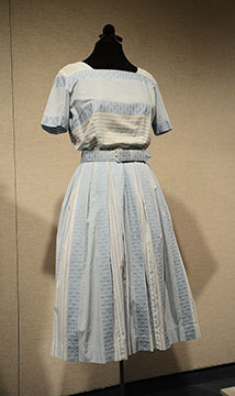 Cotton Dress; c. 1950s; Gift of Brown