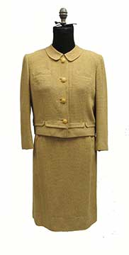 Wool Suit by Davidow for Woolf Brothers (Early 1960s) Gift of Stouffer