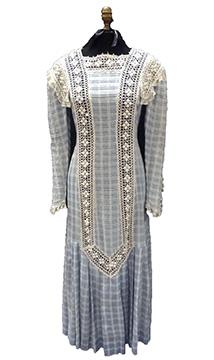 Cotton Wedding Dress (1910s, 1996)