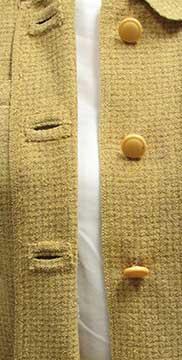 Davidow Patented  Self Bound Buttonholes