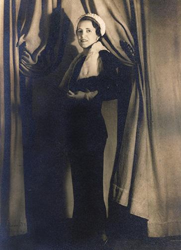 Mrs Kenneth C Allen Wedding Portrait (1934)