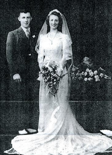 Cook Rottman Wedding Portrait (1942)