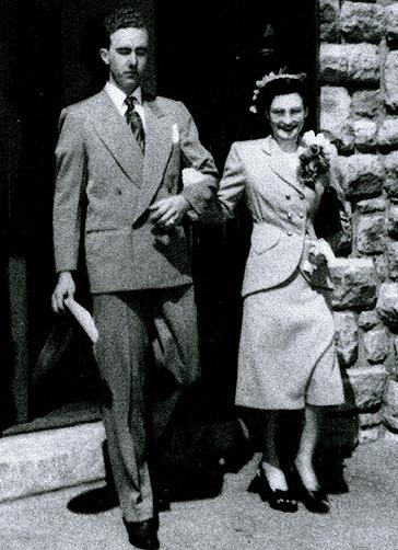 Butner Wedding Photo (1948)