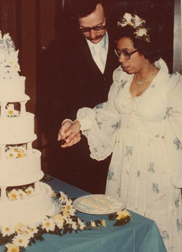 Stevens Wedding Photo (1976)