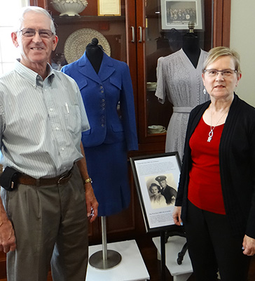 Donors with Mother's Wedding Suit