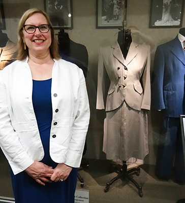 Donor with Mother's Wedding Suit