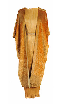 Silk 'Delphos' Dress by Mariano Fortuny; c. 1925; Gift of Cheetham