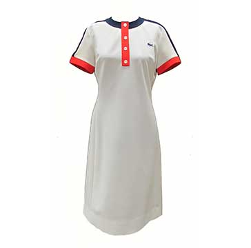 Polyester Dress by Chemise Lacoste (1960s) Gift of Rees