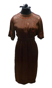 Silk Wedding Dress (1923)
