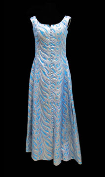 Metallic Evening Gown by Rosemarye; c. 1960s; Gift of Hearnes
