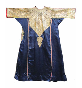Silk Indian Abho; c. Early to Mid 20th Century; Gift of Cheetham