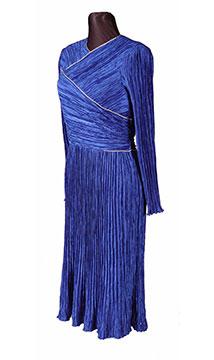 Silk Evening Dress by Mary McFadden; c. 1993; Gift of Price