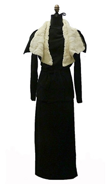 Wool and Ermine Wedding Suit (1934)