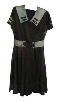 High School Silk Basketball Uniform; c. 1922; Gift of McCleary/Anheuser