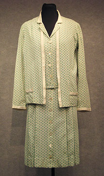 Cotton Dress and Jacket; c. 1920s; Loan by O'Malley