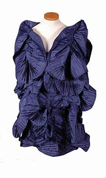 Silk Evening Dress by Krizia; c. 1980s; Gift of Roets-Dorband