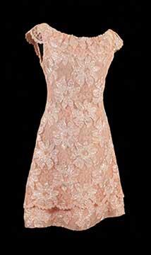Sequined Evening Dress; c. 1960s; Gift of Hearnes