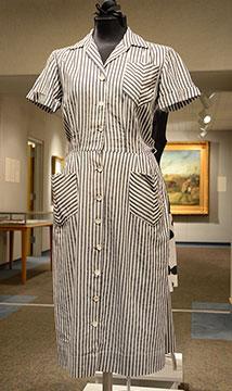 Cotton Dress; c. 1950s; Gift of DRI
