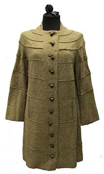 Wool Wedding Coat Dress by Grace Tancill (1938)