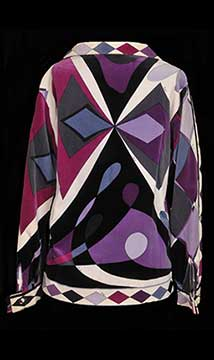 Cotton Velour Jacket by Emilio Pucci; c. 1960s; Gift of Hearnes