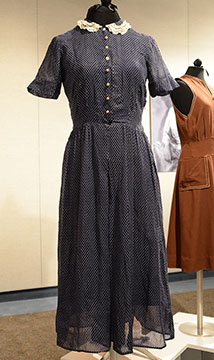 Dotted Swiss Cotton Dress; c. Late 1930s; Gift of Deaton