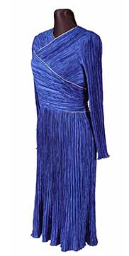 Polyester Dress by Mary McFadden for I. Magnin (1993) Gift of Price