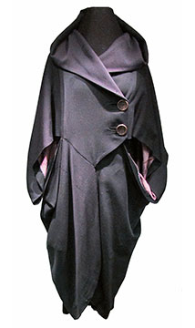 Wool Cocoon Coat; c. 1910s; Gift of Kiehl