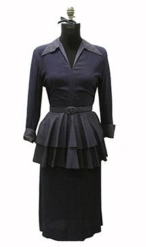 Silk Wedding Dress (1948)