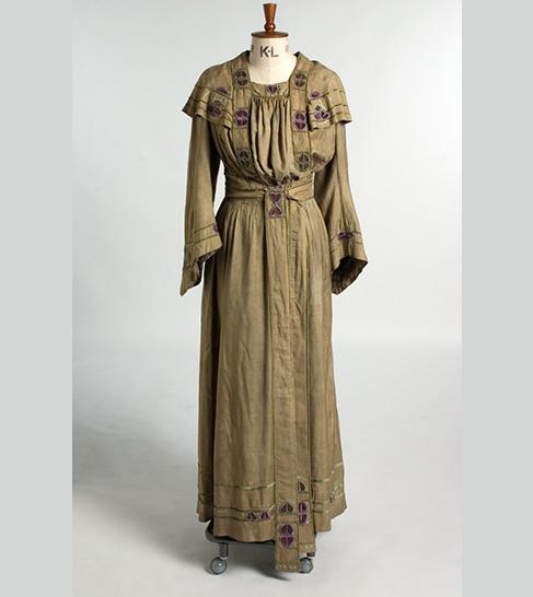 Embroidered Dress by Daisy Agnes McGlashan (c 1900); © Glasgow School of Art, Glasgow