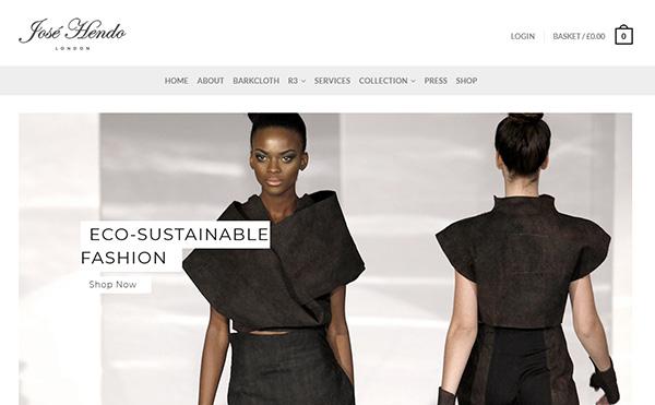 Eco-sustainable fashion