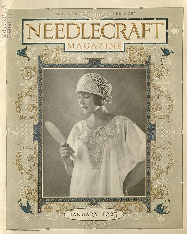 Needlecraft Magazine Cover (January 1923); Missouri Historic Costume and Textile Collection, University of Missouri, Columbia