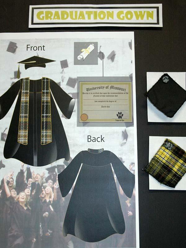 graduation gown design