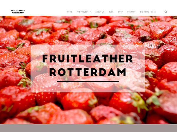 FRUITLEATHER website screenshot
