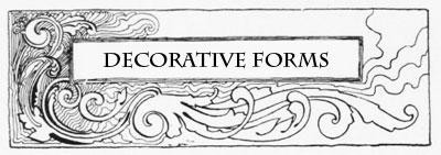 Decorative Forms