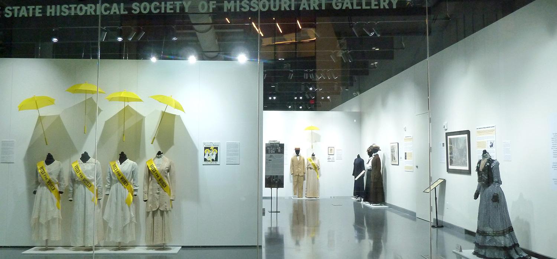 Suffrage Exhibit items