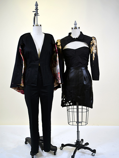 dress and pant suit