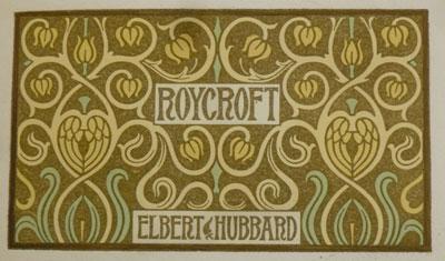 Roycroft Elbert Hubbard