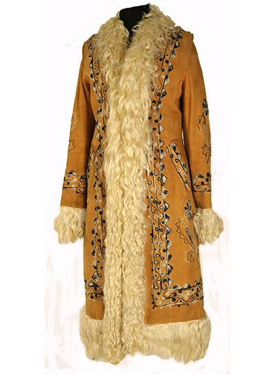 Afghan Coat (1960s) Gift of Weiss