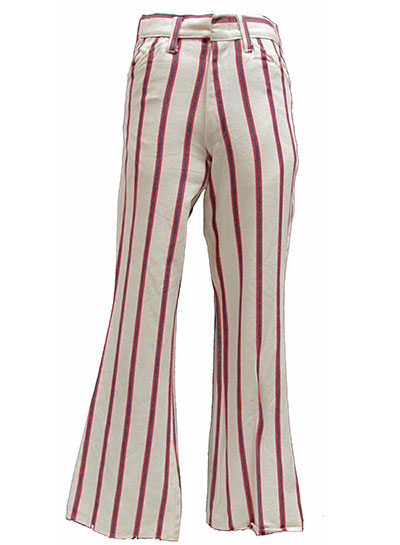 Striped Cotton Jeans (1960s) Stephens College Costume Gallery and Research Library