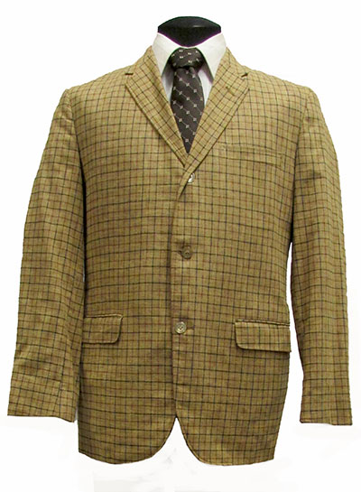 Plaid Wool Suit (1969) Gift of Kaufmann