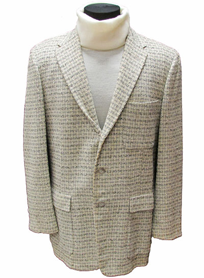 Wool Plaid Sportcoat (1960s) Gift of McDowell