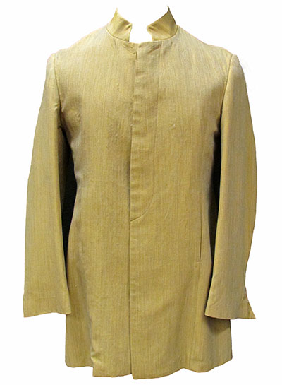 Silk Nehru Suit Label Brent and Collins for Take 6, Carnaby Street, London (1967) Gift of Kaufmann