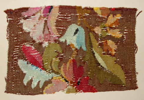 Gobelins Weave Wool Tapestry Fragment (17th Century) Museum of Art and Archaeology, University of Missouri