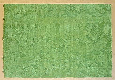 Silk Satin Damask Woven Cloth (17th Century) Museum of Art and Archaeology, University of Missouri