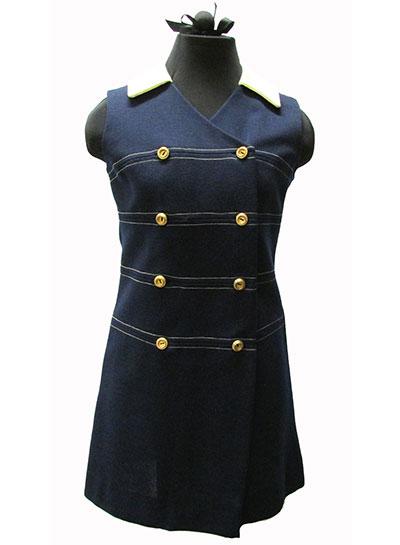 Polyester Knit Dress (1960s)