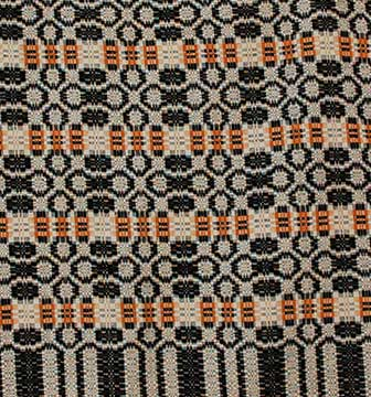 Cotton Coverlet; c. 1860s; Gift of Ray
