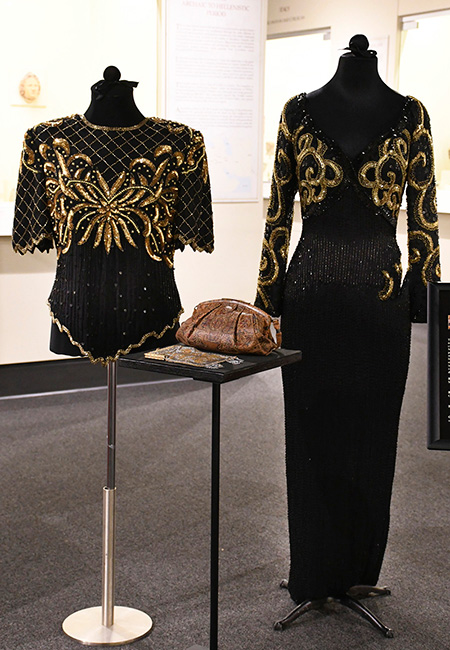 Bead and Sequin Bodice and Evening Dress (1980s) Missouri Historic Costume and Textile Collection, University of Missouri