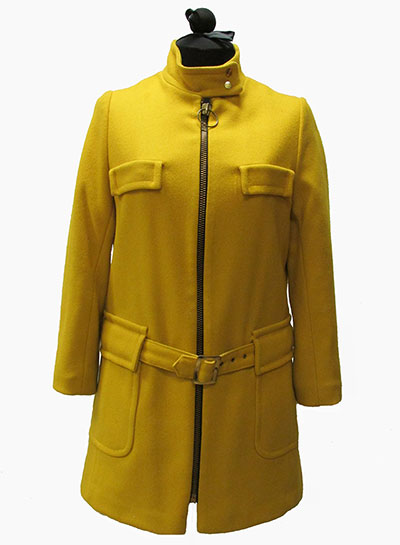 Yellow Wool Coat (1967) Gift of Brewer