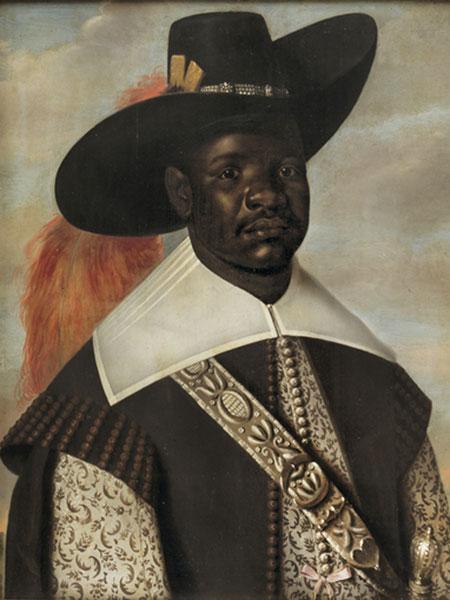 'Portrait of Don Migeul de Castro, Emissary of Kongo', by Jasper Beckx (1643)